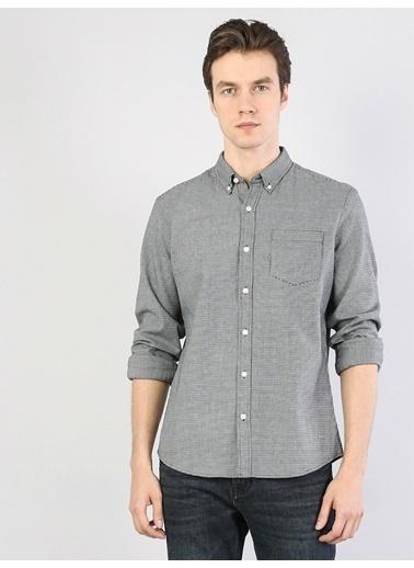 Colin's Klasik Yaka Uzun Kol Gömlek Siyah